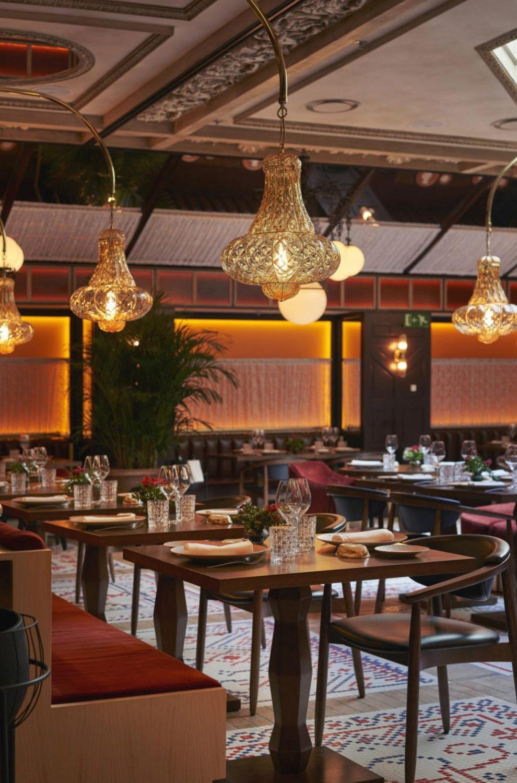 Vista general del restaurante Etxeko