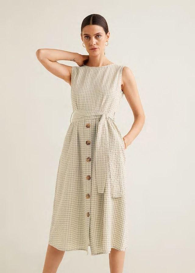 como escoger ventas calientes muy bonito Vestido de cuadros vichy, Mango.   12 Vestidos midi de ZARA,...