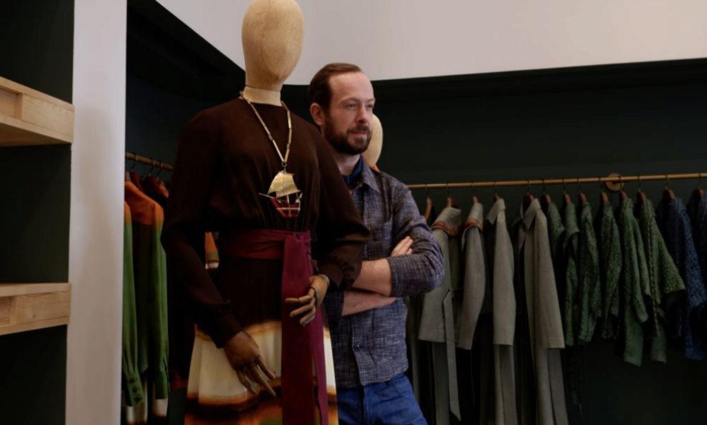 JanTaminiau es el autor de gran parte de los vestidos de alfombra roja...