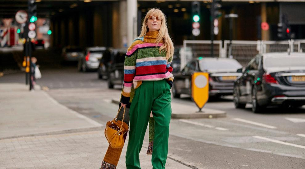 Los 'jeans' y los pantalones de colores son tendencia y Jeanette...