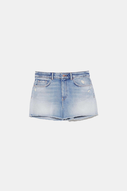 Short de Zara (19,95 euros).