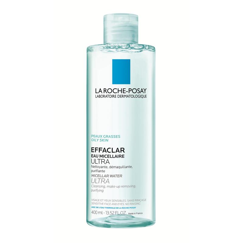 Agua micelar Effaclar, La Roche Posay.