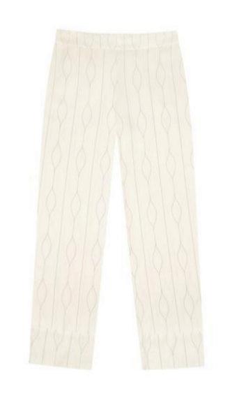 Pantalón de seda de Asceno