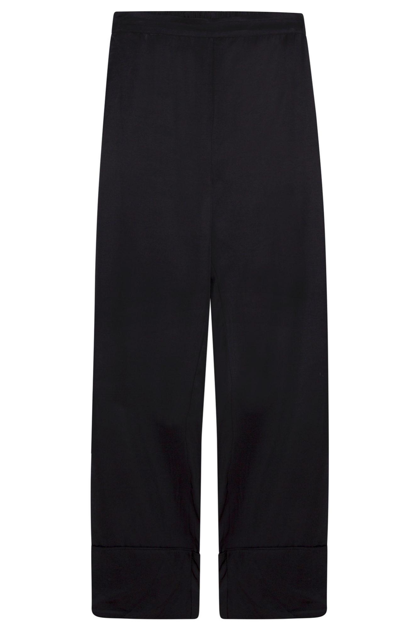 Pantalón de pijama negro de Oysho