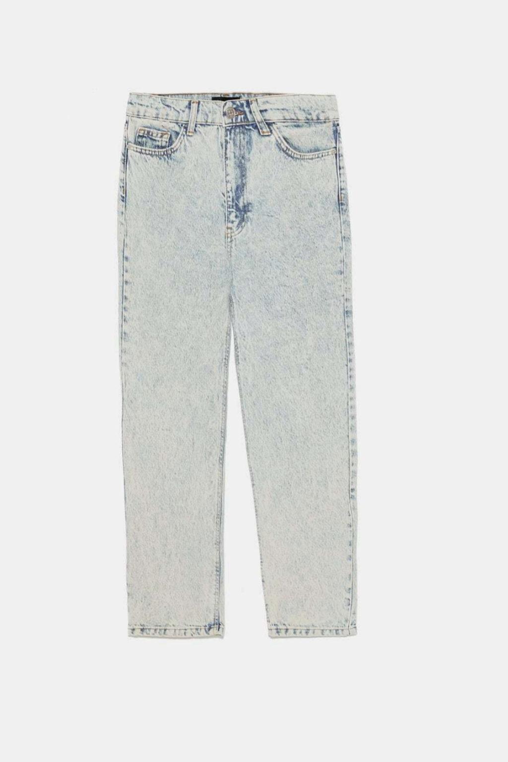 Jeans de efecto lavado de Zara