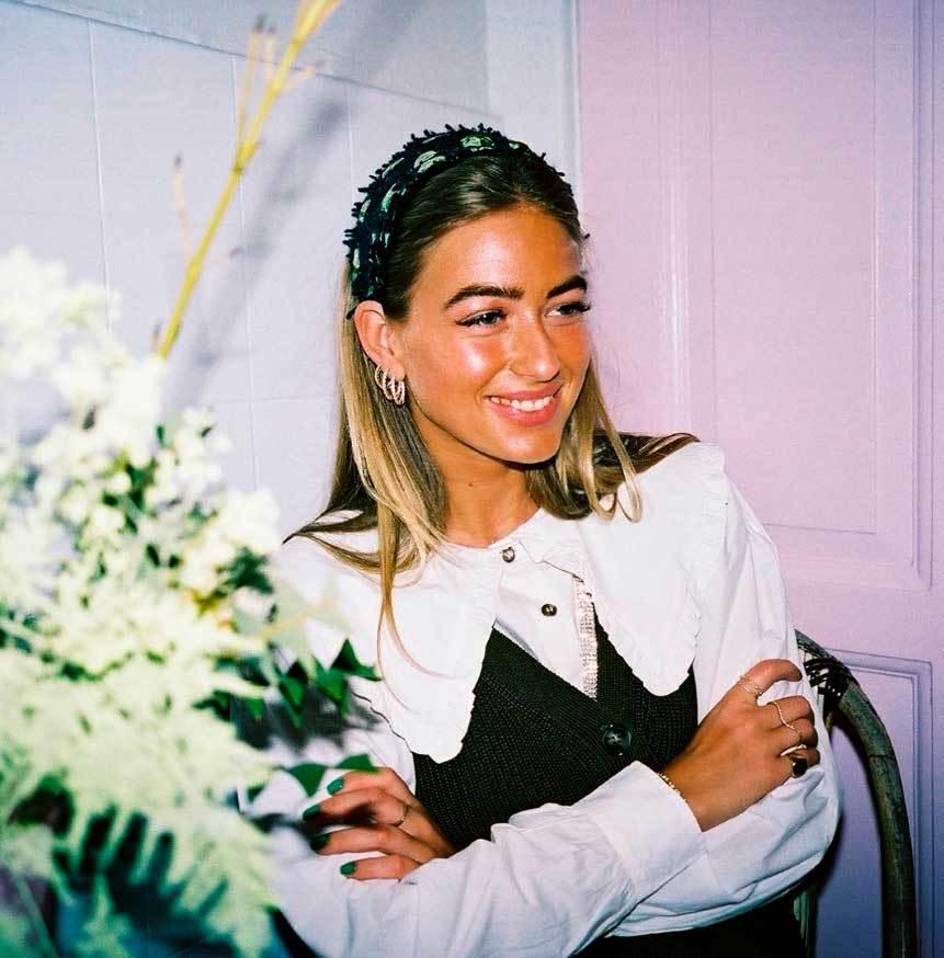 La estilista Emili Sindlev