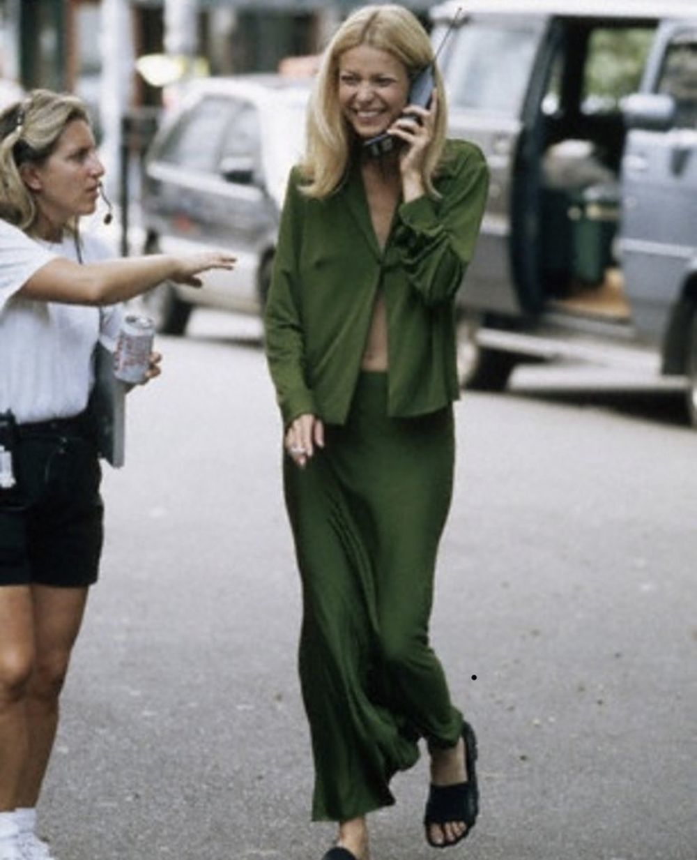 Gwyneth Paltrow cuando era puro noventas
