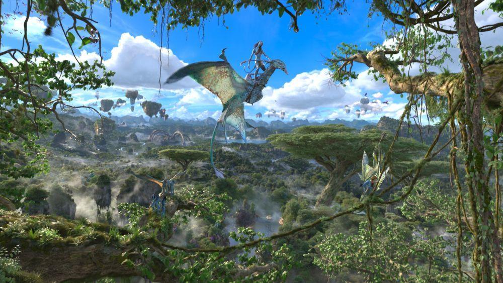 Así es la atracción Avatar Flight of Passage.