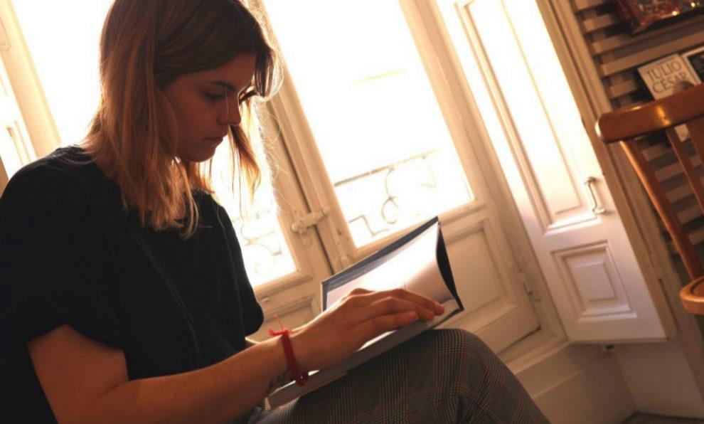 La poeta Elvira Sastre en un imagen para TELVA