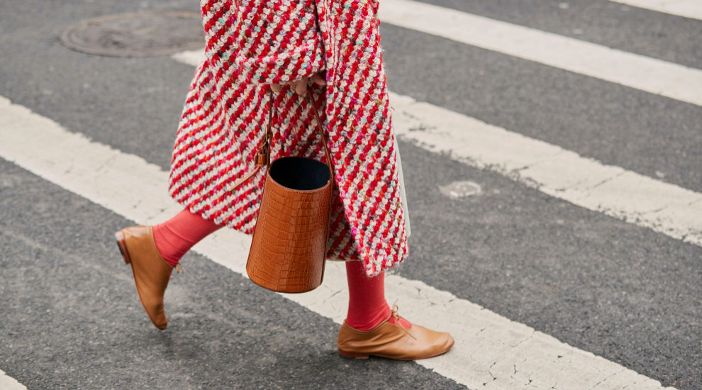 Calcetines de colores en la 'fashion week' de Nueva York