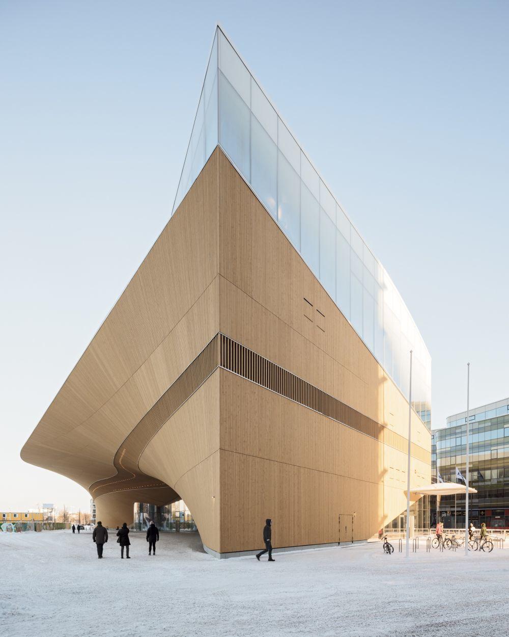 Biblioteca Central de Helsinki.