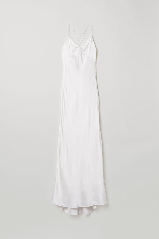 Vestido lencero de H&M (129 euros)