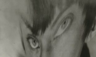 Berenice Abbot. Autorretrato, distorsión, ca. 1930.