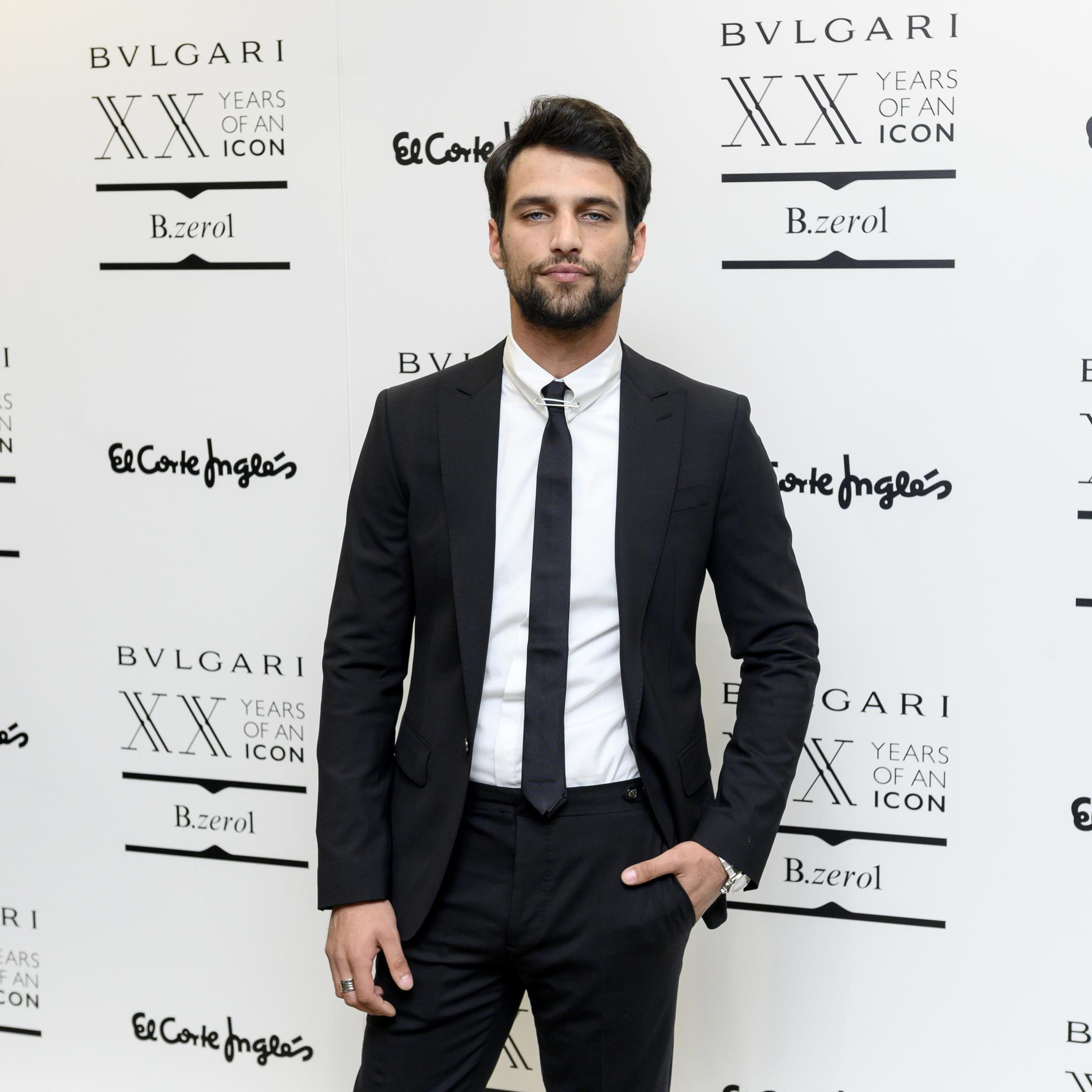 Jesús Castro, en la inauguración de la pop-up store de Bvlgari en El...