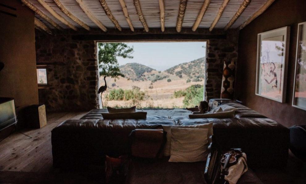Comedor con vistas en La Donaira.