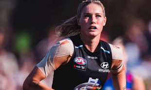 La jugadora australiana Tayla Harris, en una foto de su Instagram.