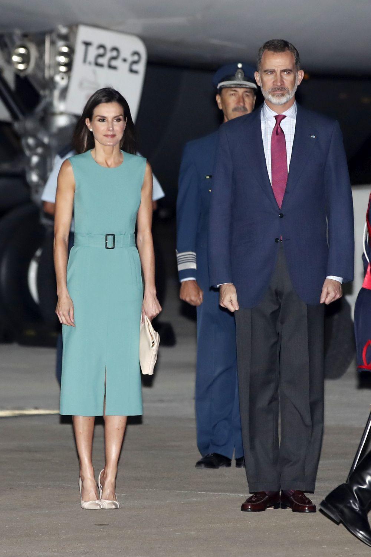 Los reyes aterrizan en Argentina para emprender un viaje oficial.