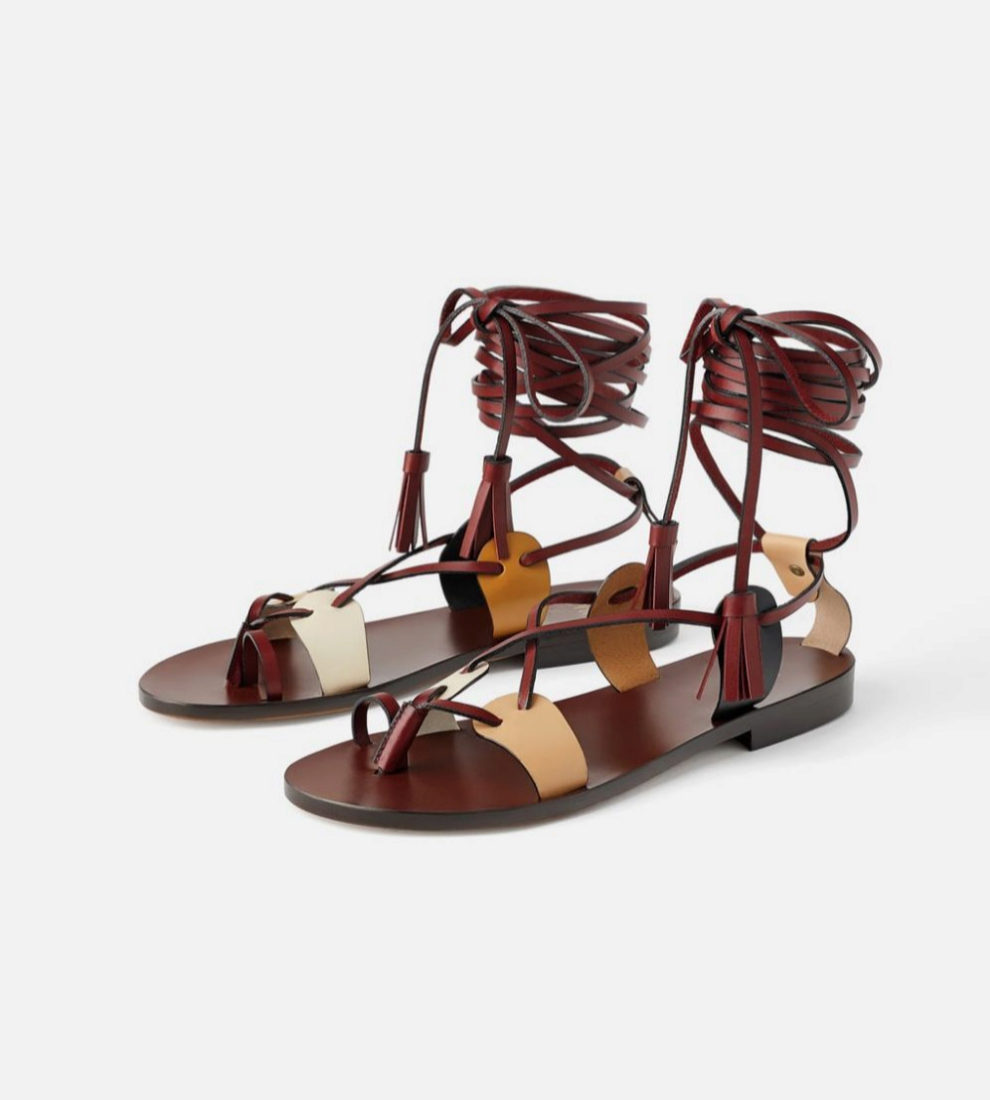 venta directa de fábrica nueva colección salida en línea Las sandalias más bonitas de Zara cuestan 70 euros y ya están ...