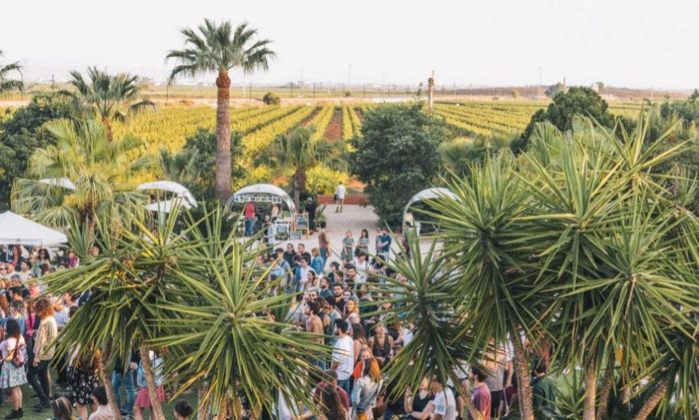 Una imagen de la pasada edición del Festival de l'Horta Turia.