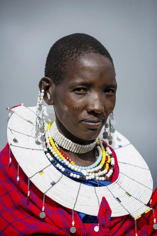 La tribu de los guerreros masái es originaria del Ngorongoro: en la actualidad continúan viviendo de la caza y de la ganadería.
