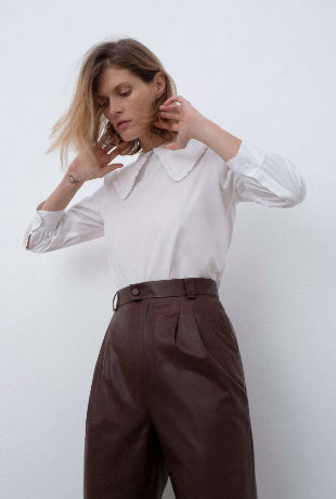La blusa de Zara