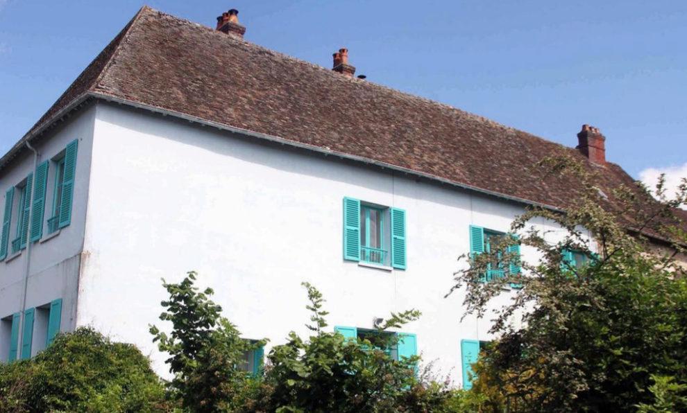 La casa de Claude Monet en Giverny.
