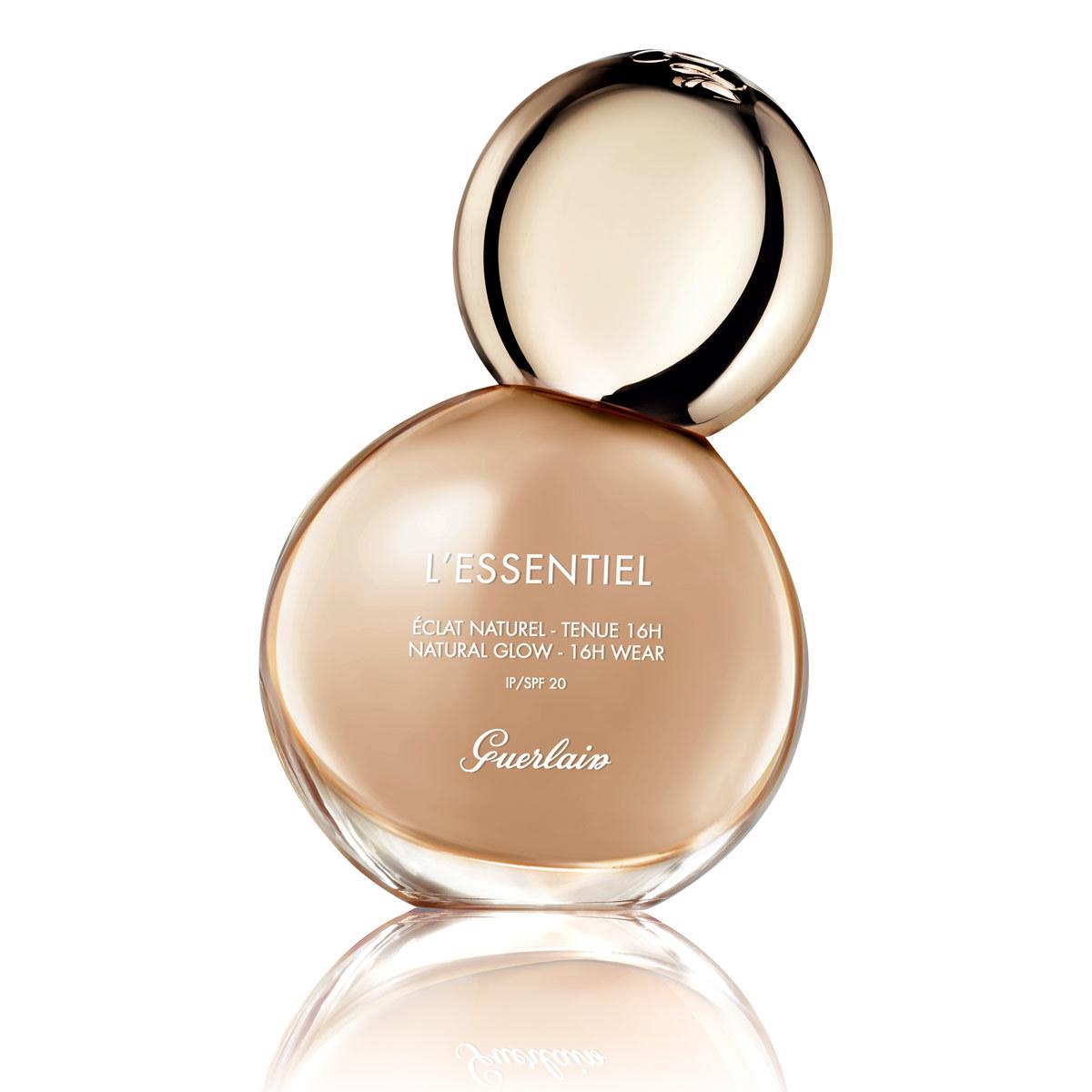 Base de maquillaje L'Essentiel SPF 20 de Guerlain.