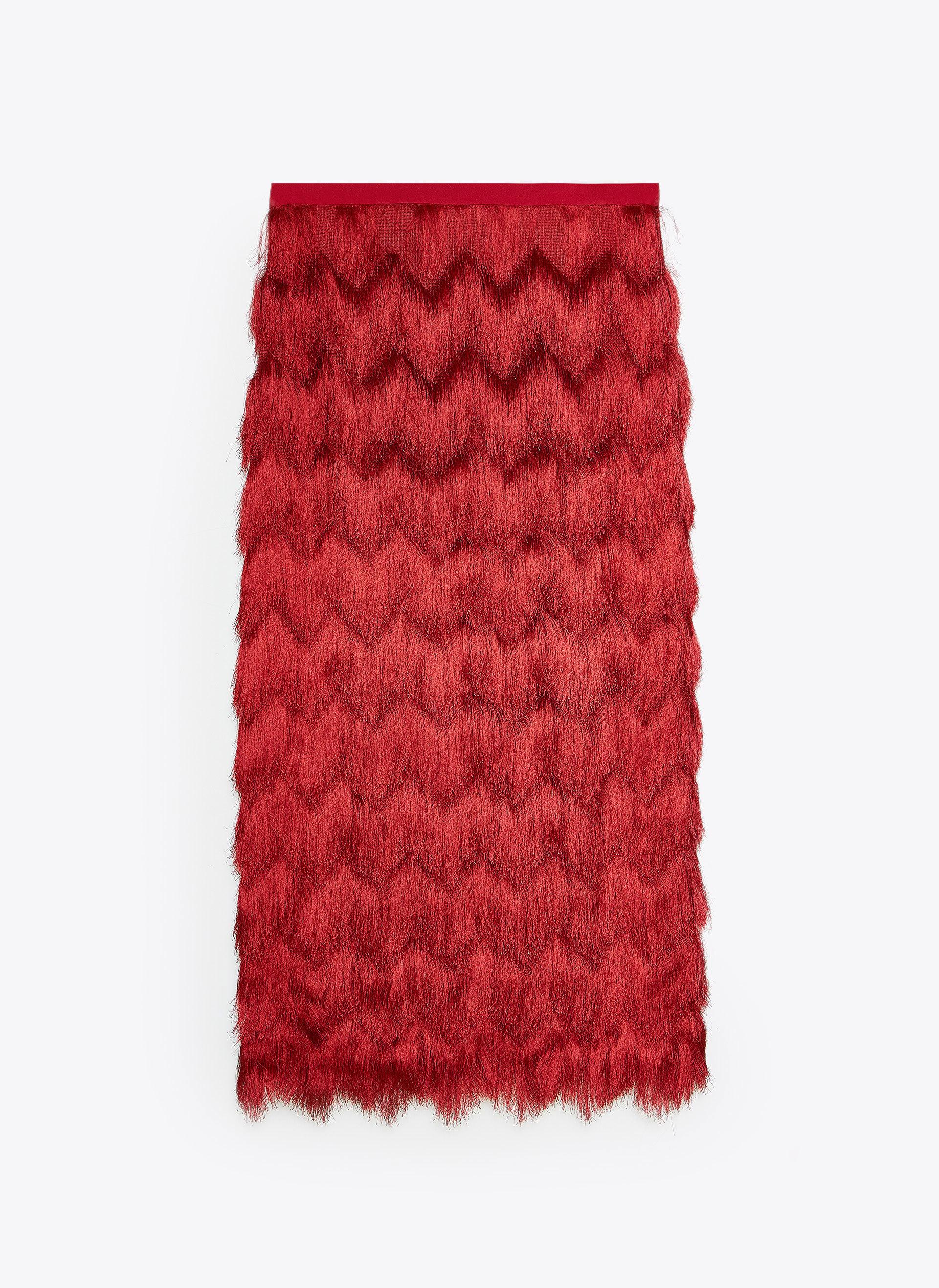 La falda de Uterqüe (99 euros).