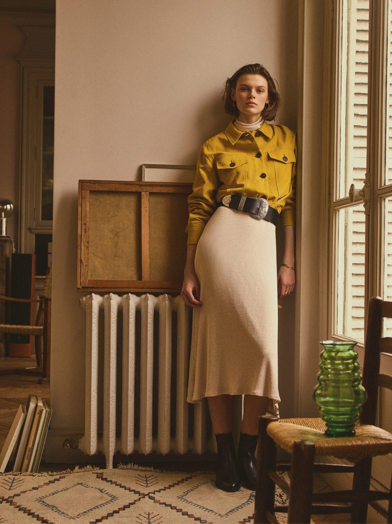 De este look de Mango lo quiero todo: la cazadora amarilla (59,99...