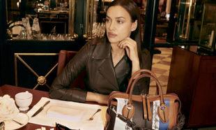 Irina Shayk nos enseña qué hay en su bolso D-Styling de Tod's.