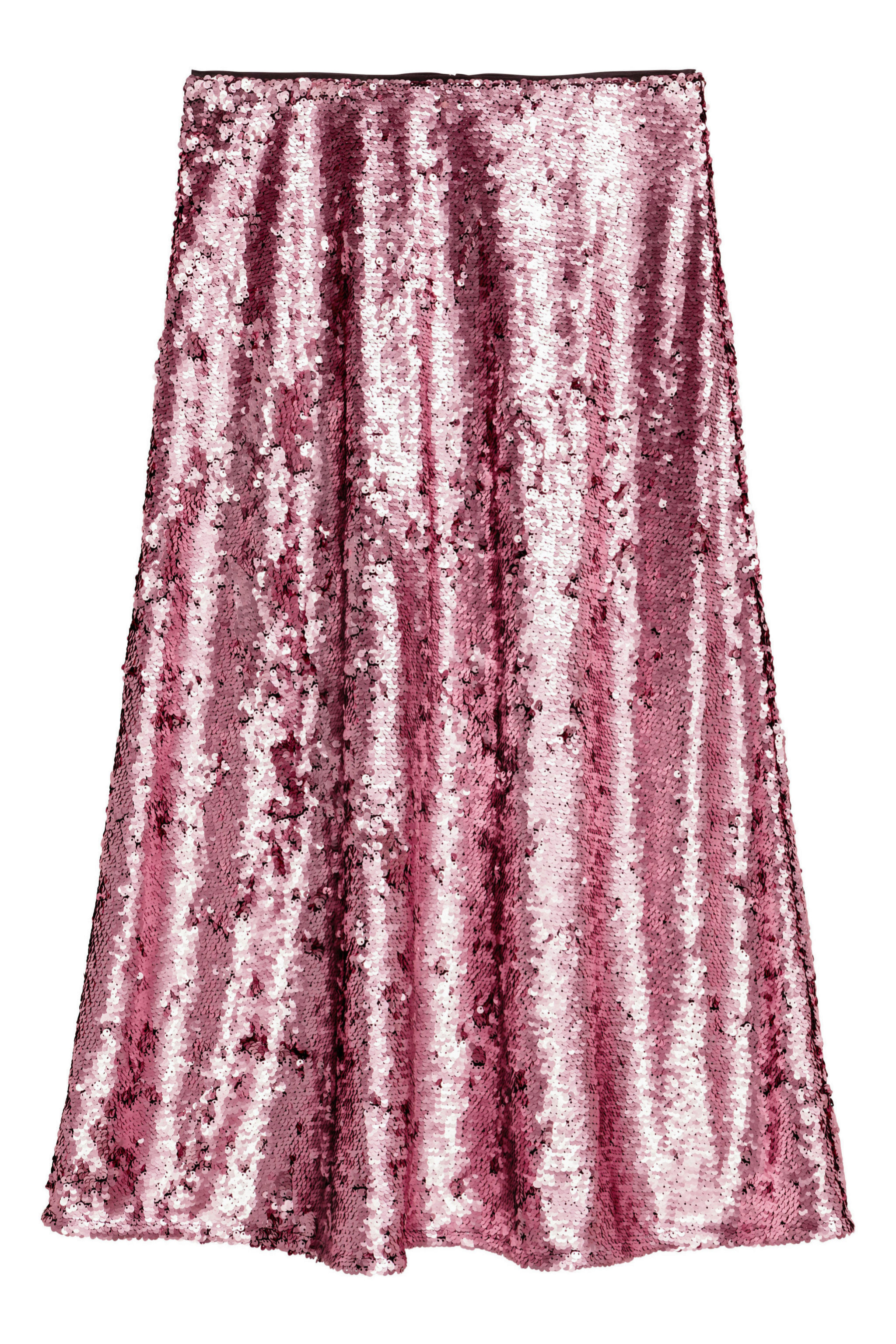 Falda lady de lentejuelas de H&M