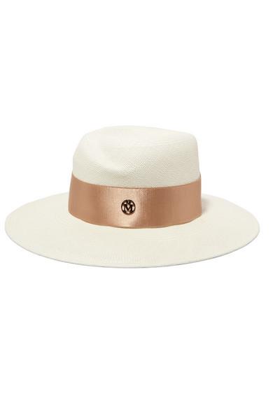 Sombrero fedora de Maison Michel para Net a Porter (c.p.v)