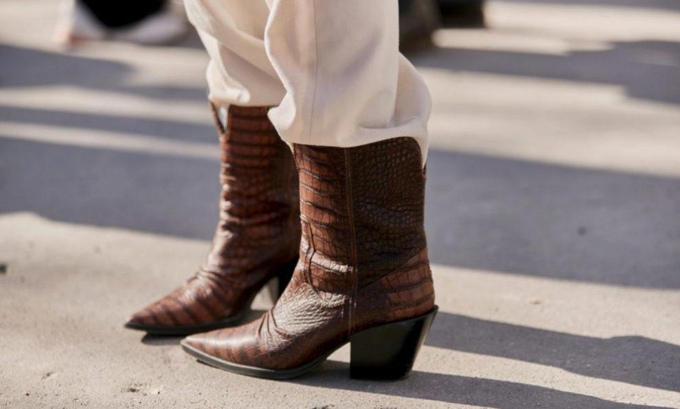 Las botas cowboy.