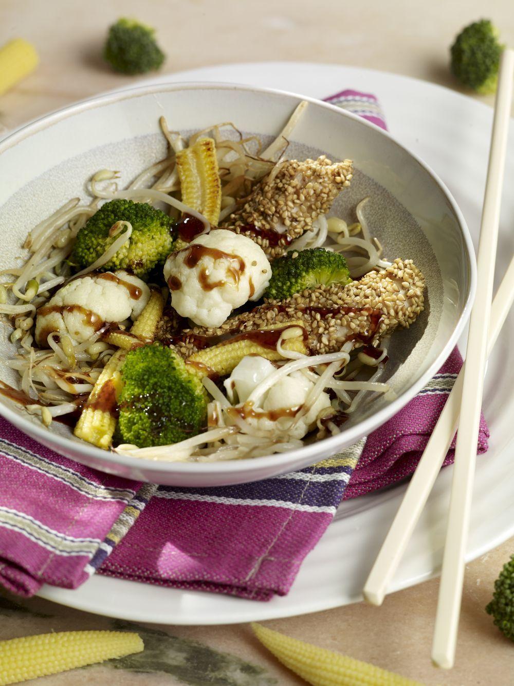 El brócoli conviene cocinarlo al vapor para que la pérdida de...