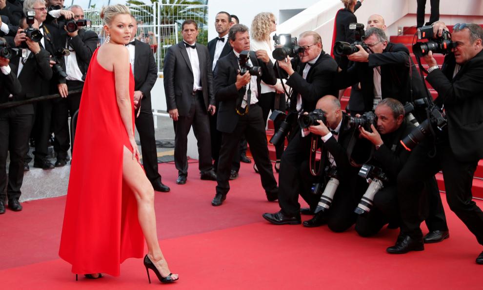 Kate en la alfombra roja de Cannes.