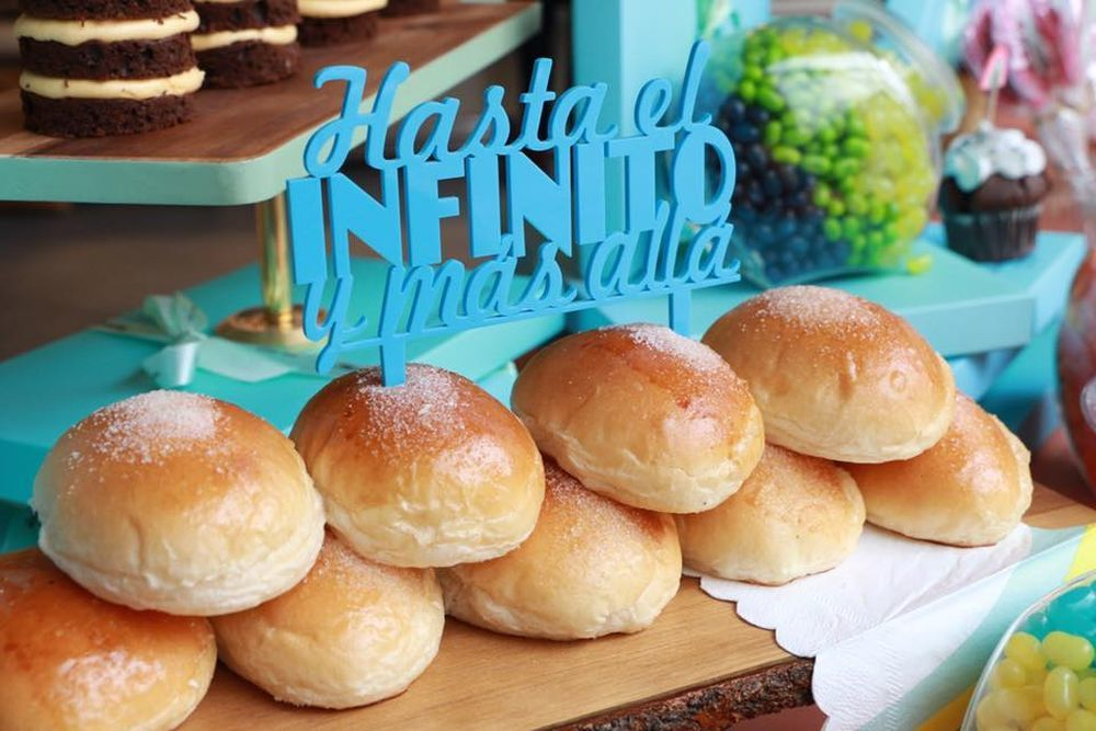 Bollos de mantequilla típicos de Bilbao