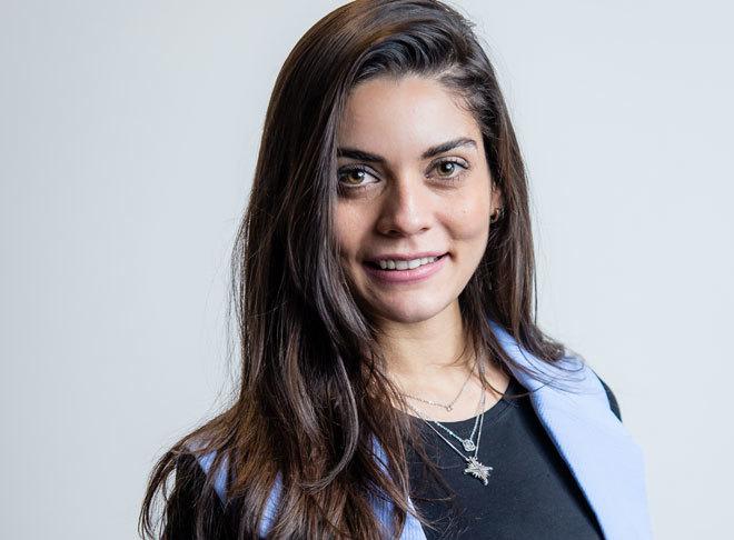 Caroline Correia, la fisioterapeuta de la presentadora Pilar Rubio.