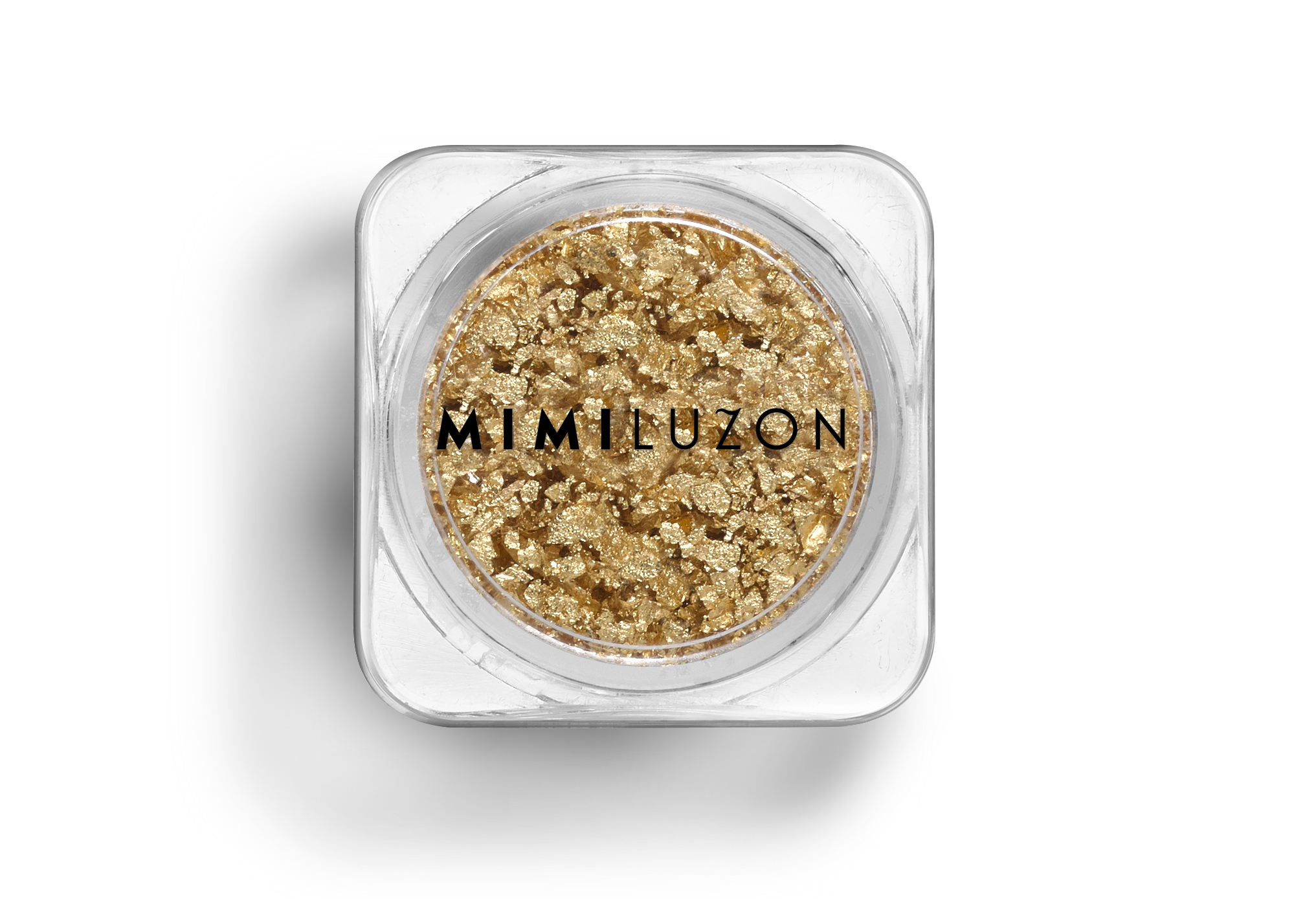 Polvos de oro puro para mezclar con la crema habitual (cualquiera)