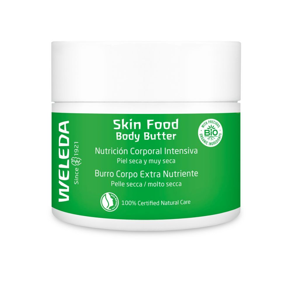 Skin Food Body Butter de Weleda.
