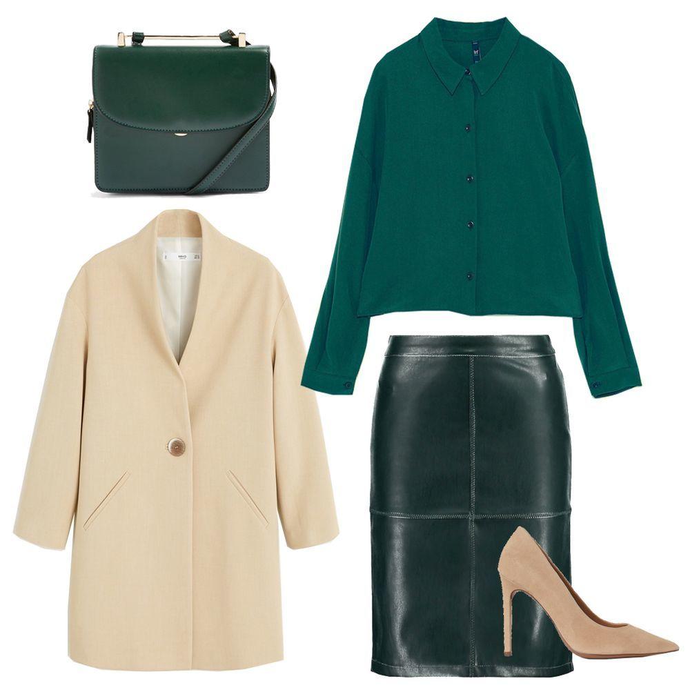 1.Bolso de Top Shop (34 euros). 2. Blusa de Zara (22,95 euros). 3....