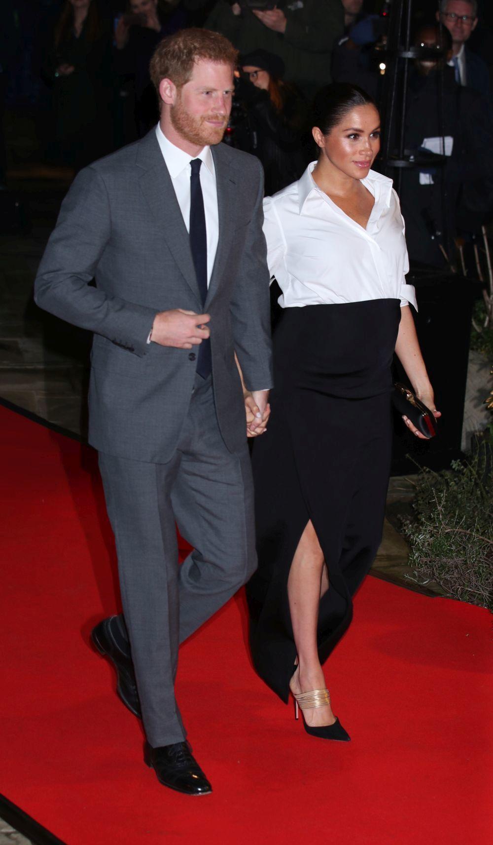 Meghan Markle y el príncipe Harry en los Endeavour Fund Awards.