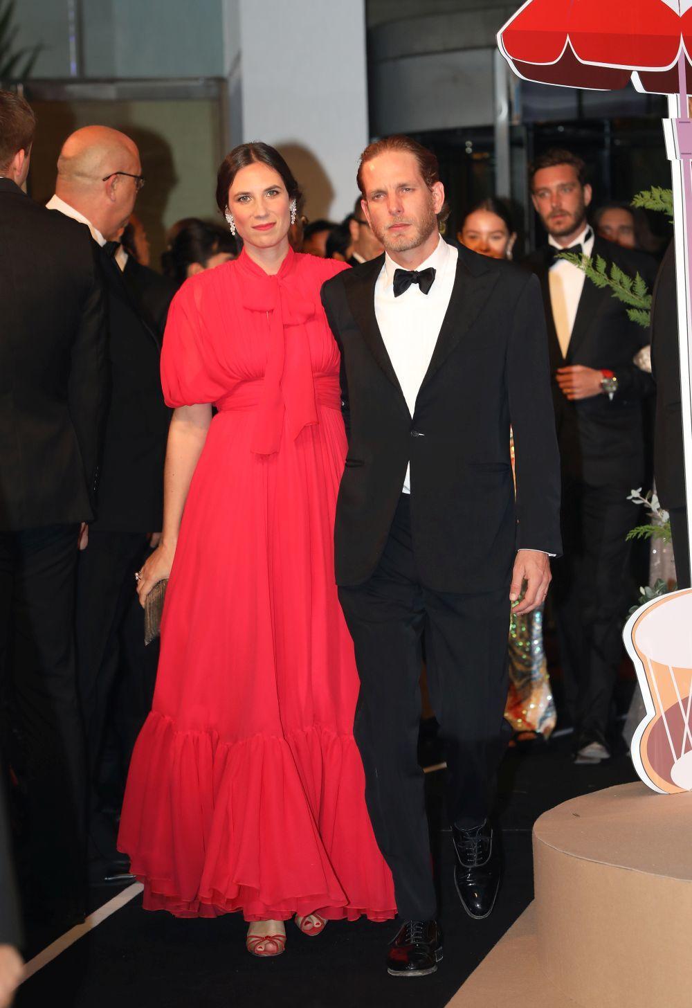 El vestido boho con lazo de Giambattista Valli de Tatiana Santo...