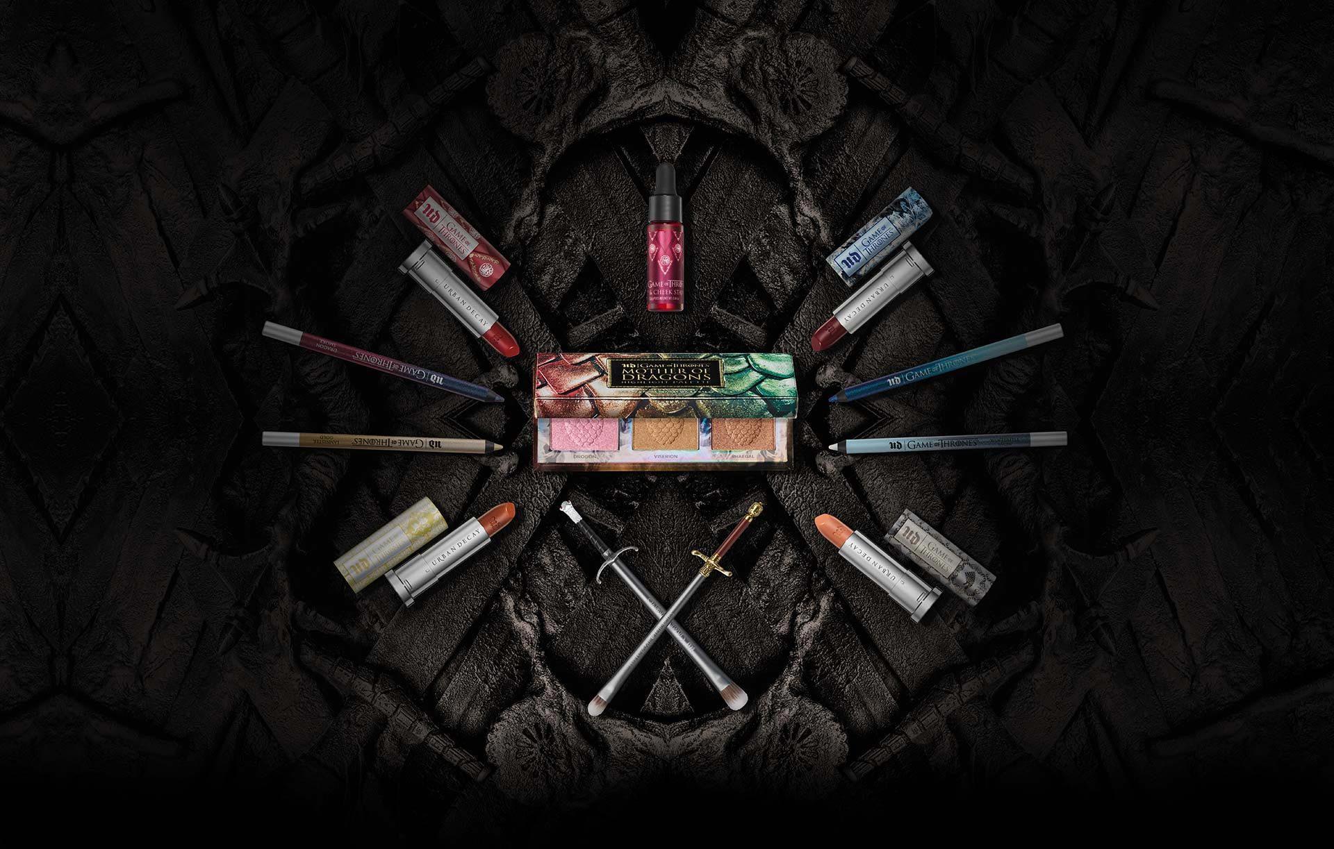 Urban Decay lanza una colección de maquillaje de Juego de Tronos.
