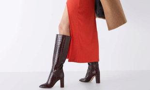 La selección de botas y botines de Zara nos hace desear que se...