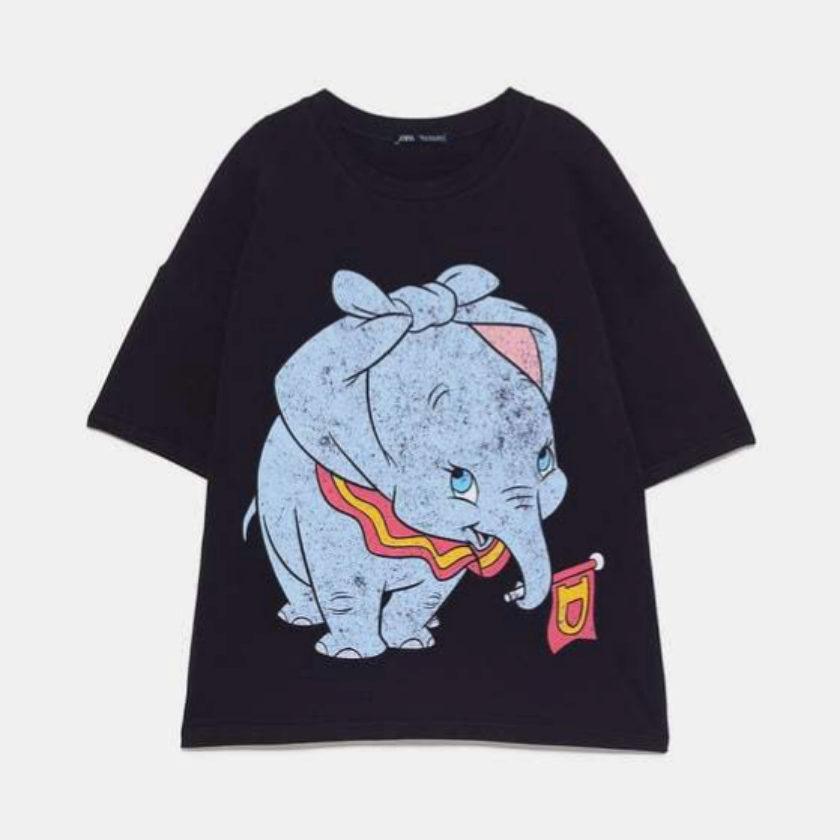 Camiseta de Dumbo de Zara