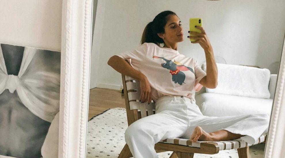 Belén Hostalet se apunta a la moda Disney con camiseta de Loewe