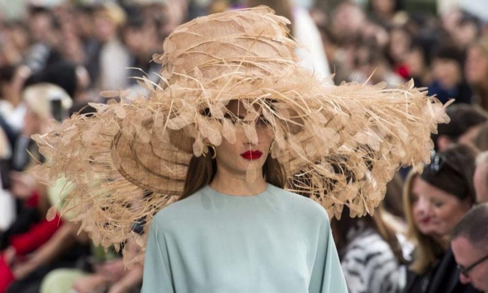 Los sombreros que hemos visto en el desfile de Valentino.