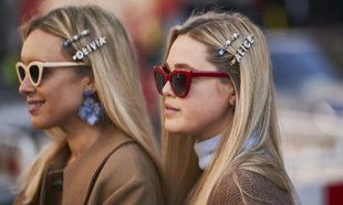 En el street style de la London Fashion Week, hemos visto melenas...
