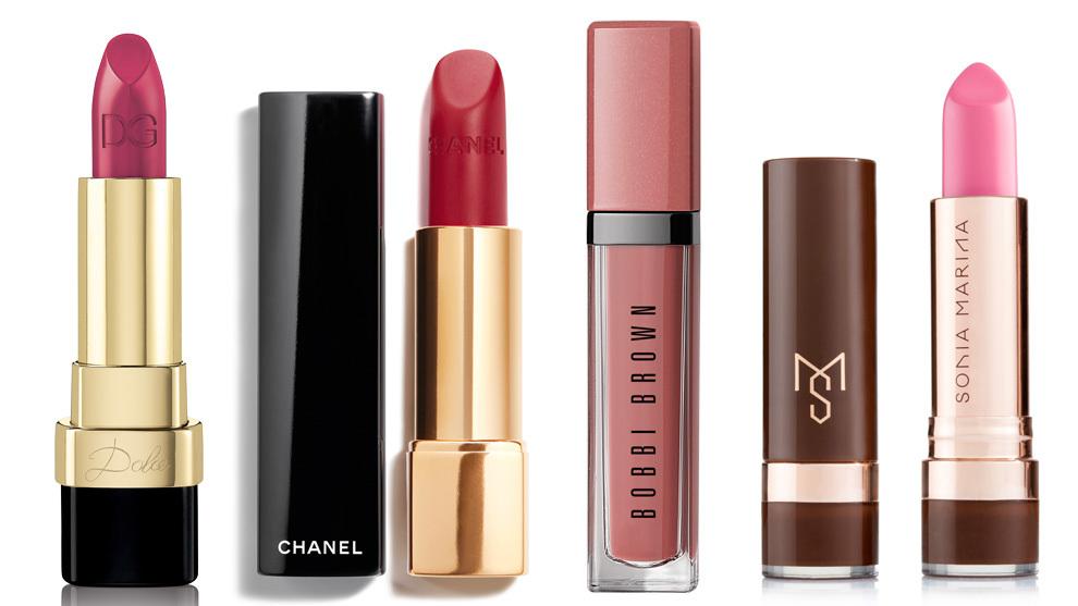 Dolce Matte Lipstick Bacio 641, Dolce & Gabbana (36 euros); Rouge...