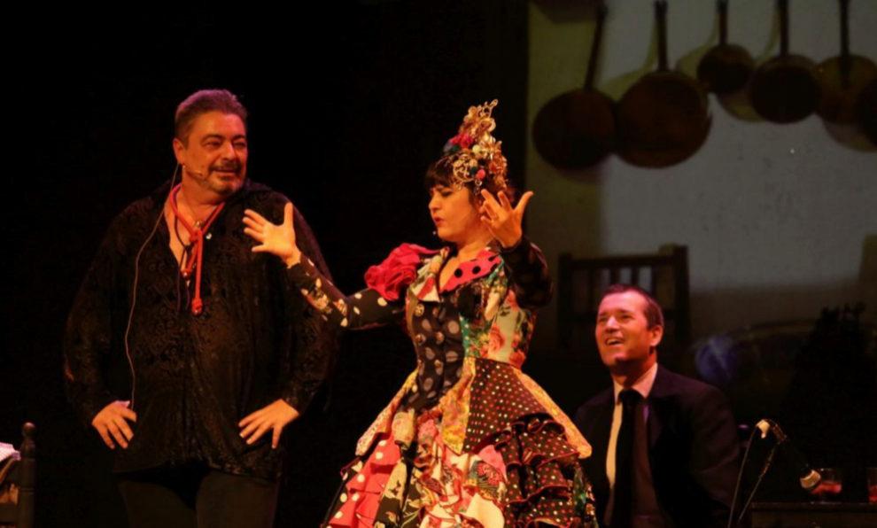 Maui de Utrera con Antonio Canales de artista invitado